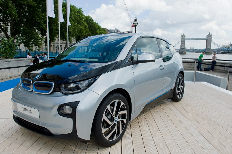 bmw i3 electric car londen