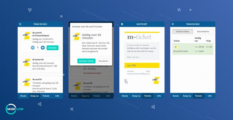 m-ticket in Mobiflow